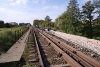 Przebudowa mostu kolejowego