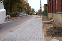 Chodniki na ulicy Szkolnej