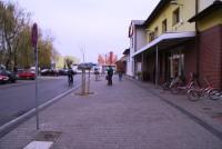 Nowy chodnik wcentrum miasta