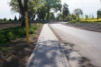 Inwestycje 2014 - Chodnik w Głubczynie