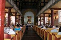 Wnętrze kościóla p.w. Św. Józefa w Krajence - 2011