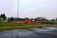 Inwestycje 2015 - Budowa boiska lekkoatletycznego rozpoczęta