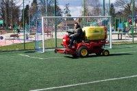 Inwestycje 2015 - Prace na obiektach sportowych