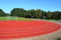 Boisko lekkoatletyczne przy Gimnazjum