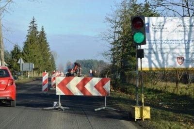 Inwestycje wgminie - przebudowa drogi Żeleźnica - Dolnik