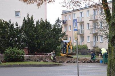 Inwestycje wgminie - przebudowa ulicy Złotowskiej wKrajence