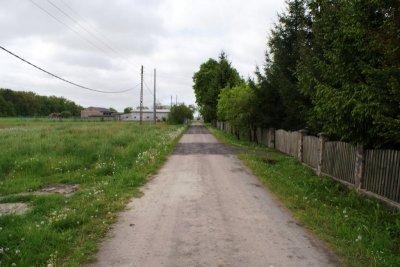 Przebudowa drogi wLeśniku