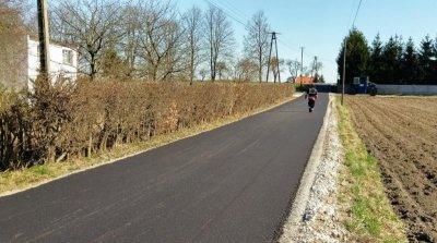 Budowa drogi wCzajczu