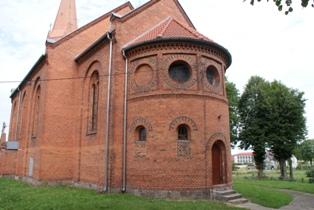 Kościół p.w. Świętego  Jana Chrzciciela wGłubczynie –2011r.