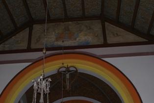 Wnętrze Kościoła p.w. Świętego Jana Chrzciciela wGłubczynie –2011r.