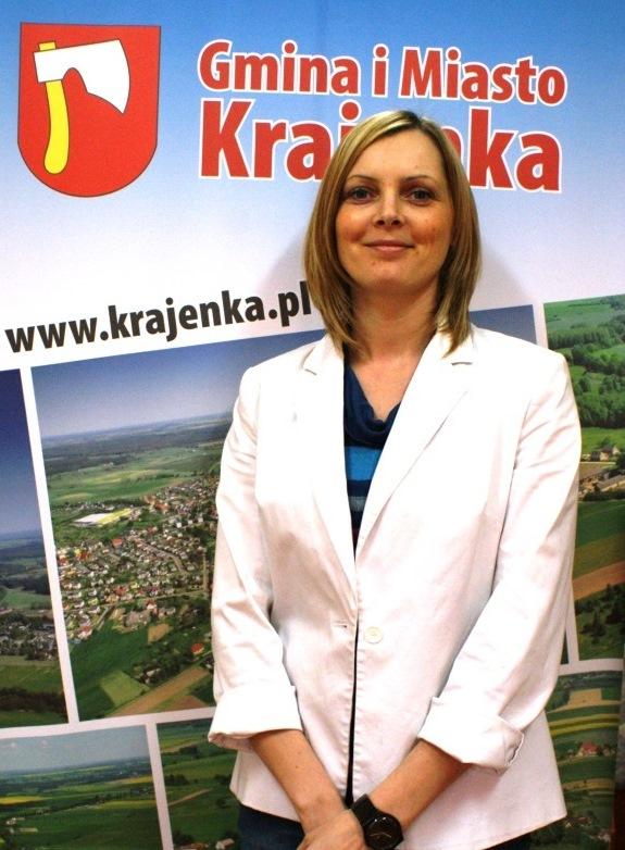 Aleksandra Sawicka - zastępca Burmistrza Gminy iMiasta Krajenka
