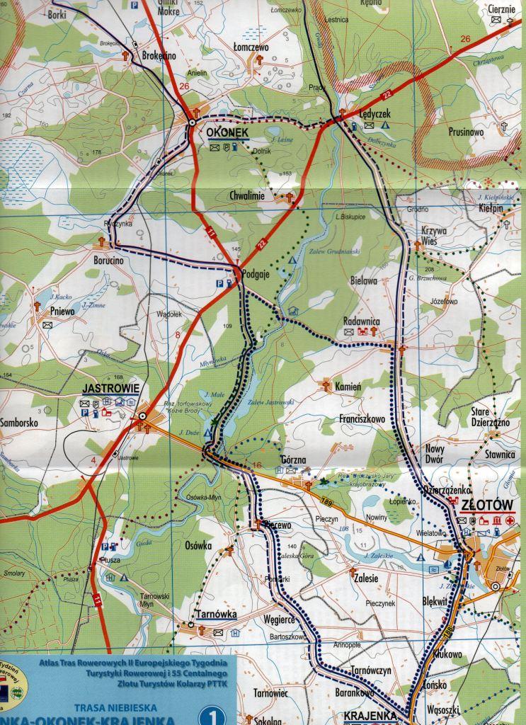 Trasa Niebieska Mapa